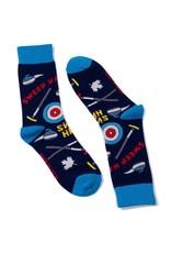 Main & Local Canadian Curling Socks