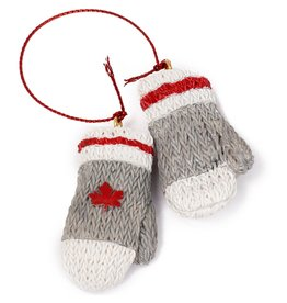 Main & Local Canadian Wool Mittens Ornament