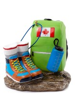 Main & Local Hiking Boots Ornament