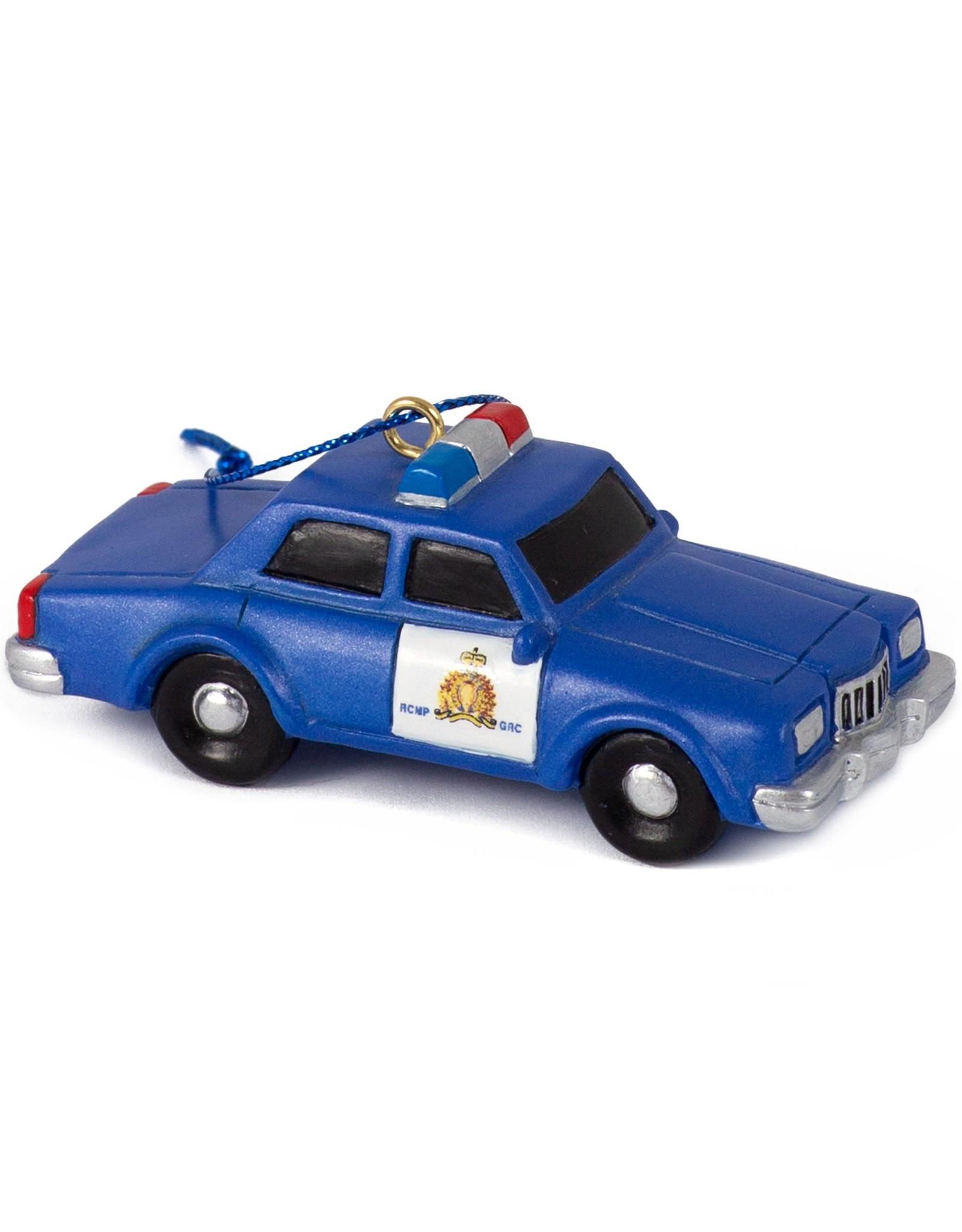 Main & Local RCMP Retro Patrol Car Ornament