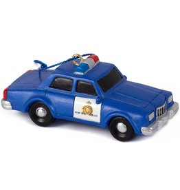 Main & Local RCMP Retro Patrol Car Ornament