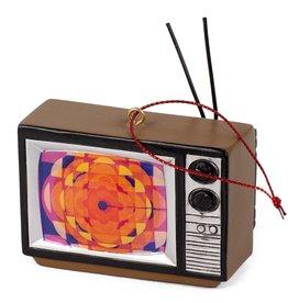 Main & Local TV - Retro Gem Logo Ornament