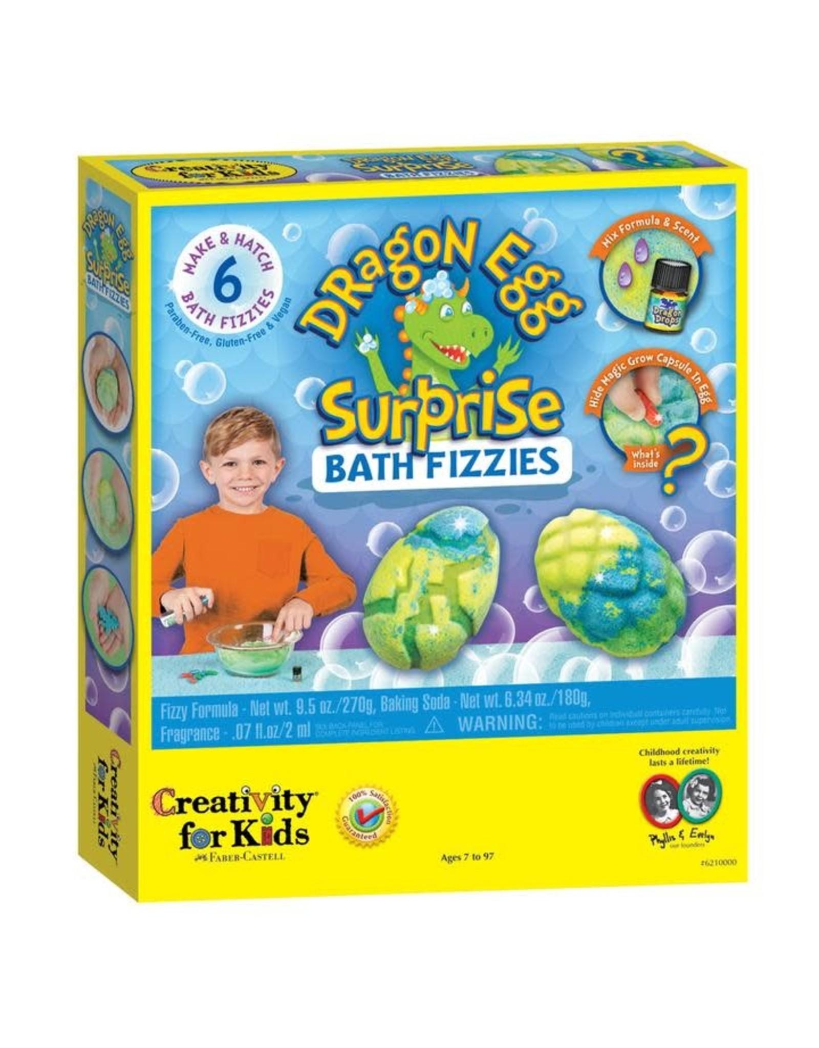 Creativity For Kids Dragon Egg Surprise Bath Fizzies
