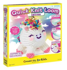 Creativity For Kids Quick Knit Loom Unicorn