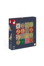 Kubix 16 Wood Alphabet Blocks