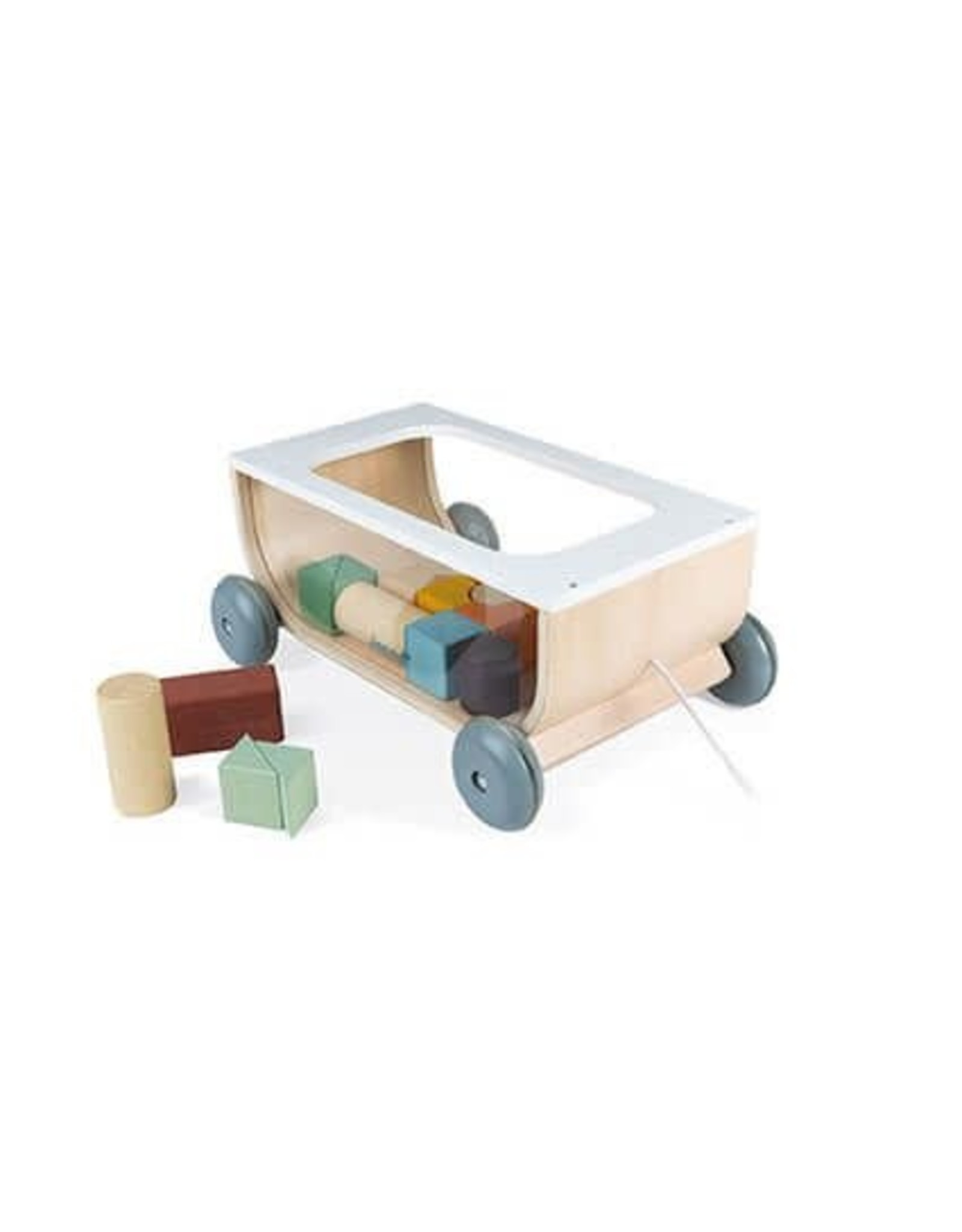 Cart with Blocks
