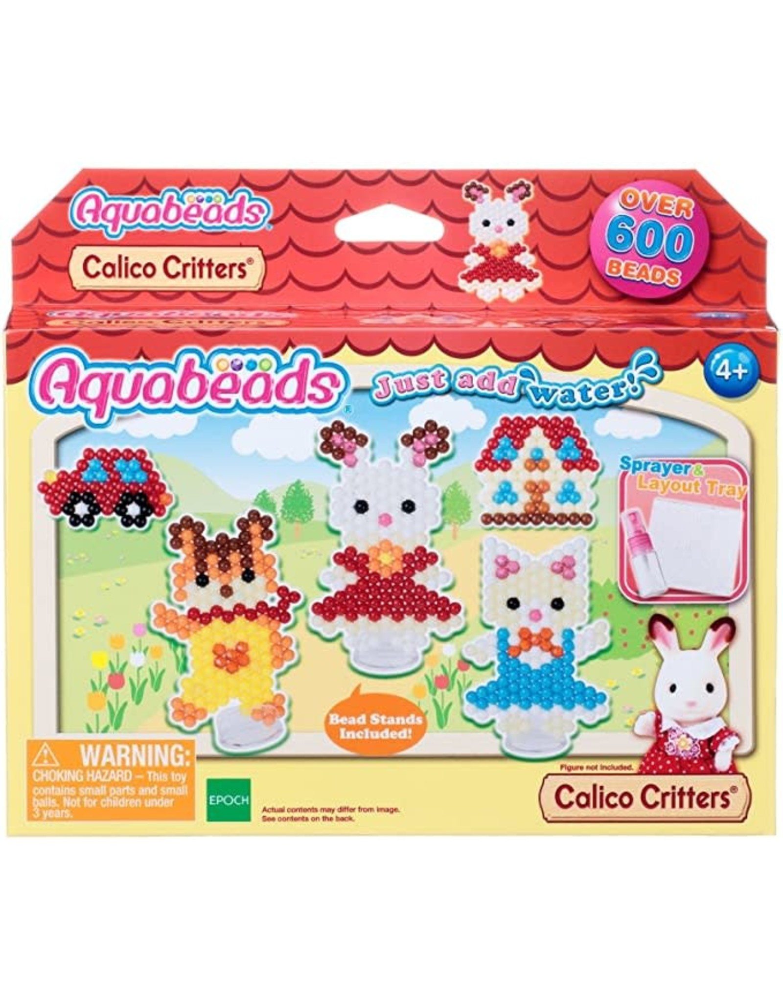Calico Critters Character Set Aquabeads