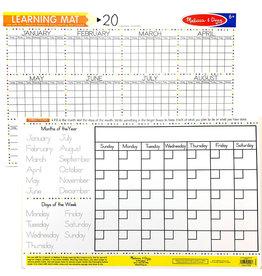 Melissa & Doug Learning Mat Calendar