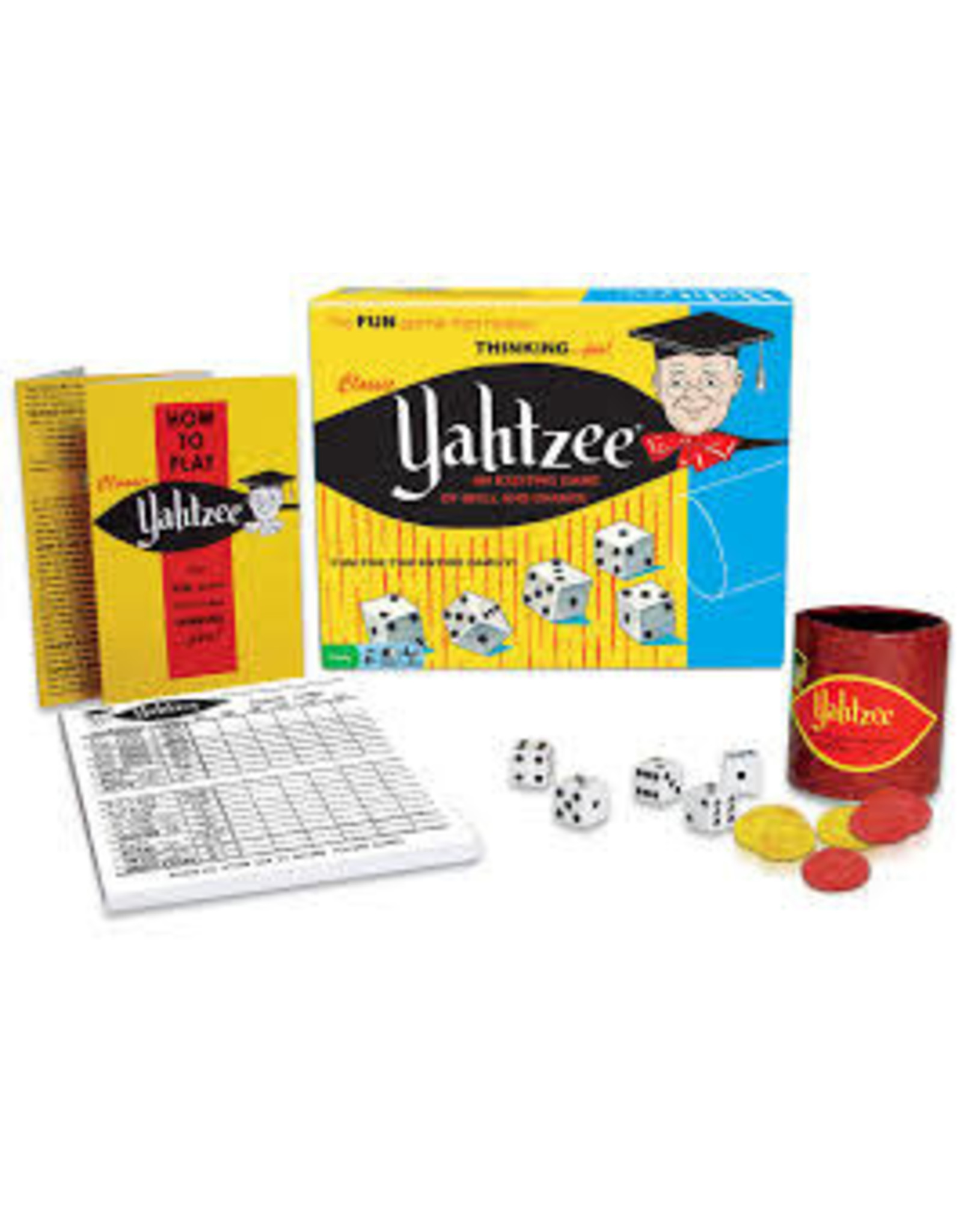 Hasbro Classic Yahtzee