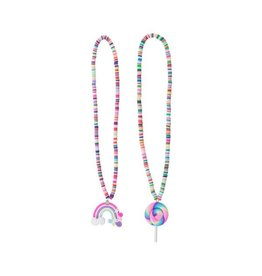 Great Pretenders Rainbow/Lolly Necklace Asst.