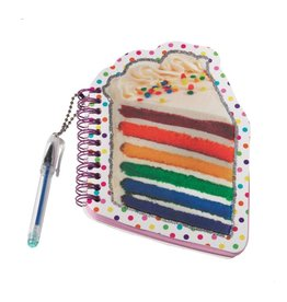 Notepad Mini Scented with Pen - Rainbow Cake