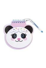 Notepad Mini with Pen - Panda