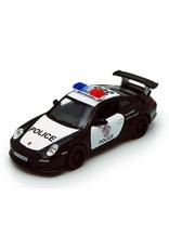 """Pull Back Police Cars Modern 5"""" Asst."""