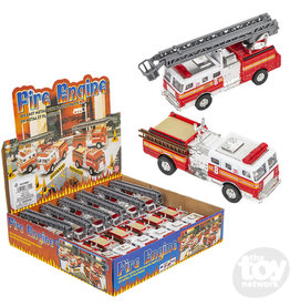 """Pull Back Fire Truck 5"""" Asst."""