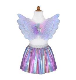Great Pretenders Unicorn Skirt & Wings, Pastel
