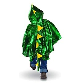 Great Pretenders Toddler Dragon Cape, Green