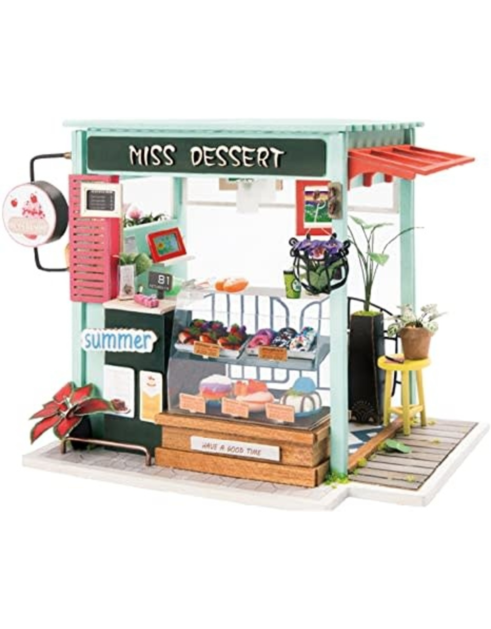 DIY House-Ice Cream Station