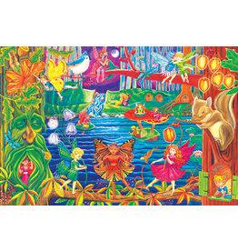 Cobble Hill Fairy Forest 36 pc Floor Puzzle