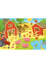 Cobble Hill Higgledy Piggledy Farm Floor Puzzle