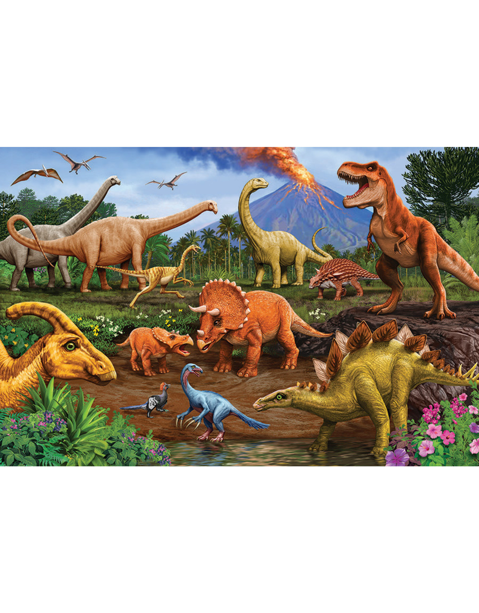 Cobble Hill Dinos Floor Puzzle