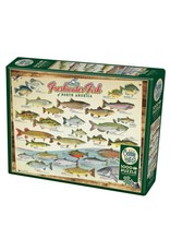 Cobble Hill Freshwater Fish of North America 1000 pc
