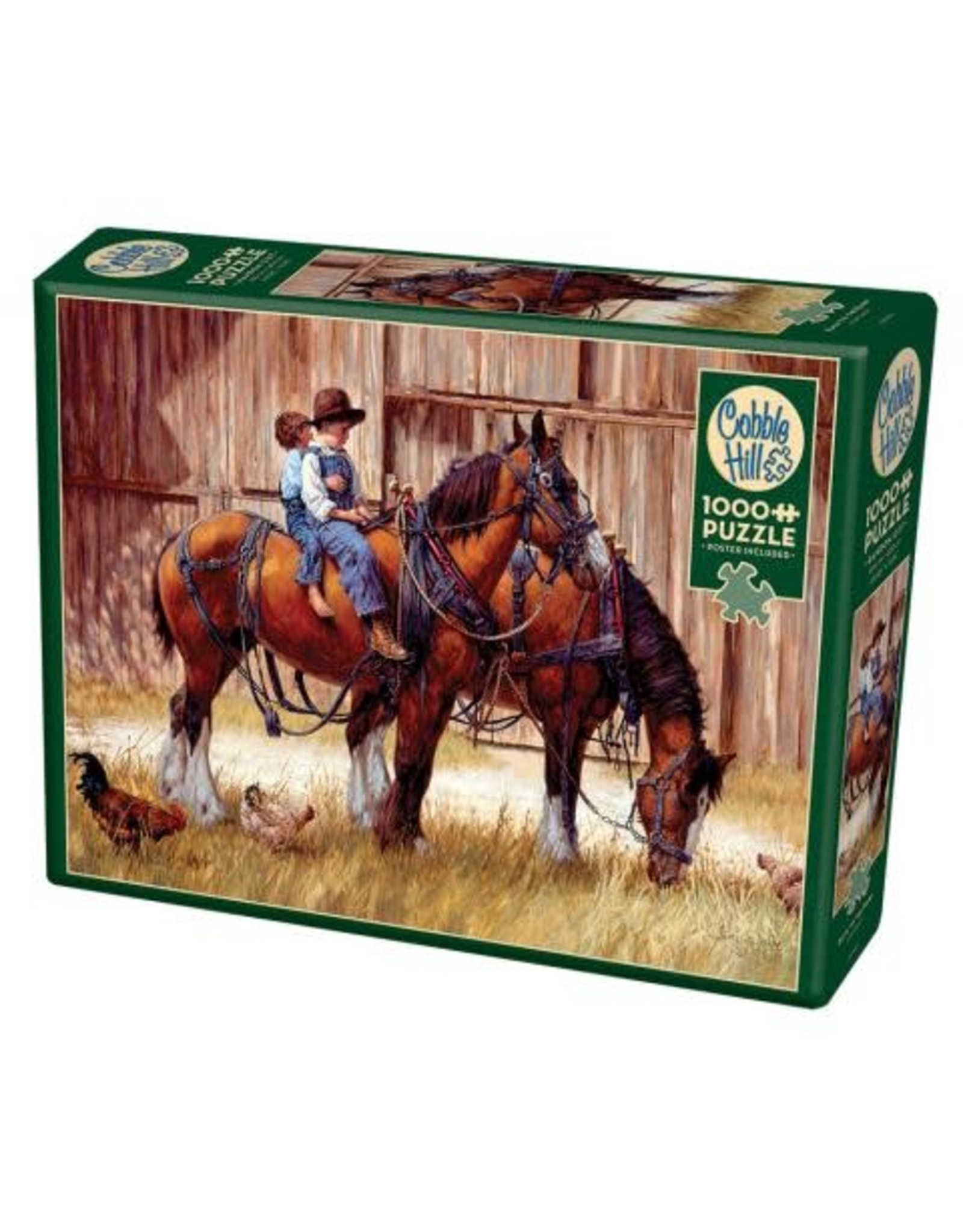 Cobble Hill Back to the Barn 1000 pc