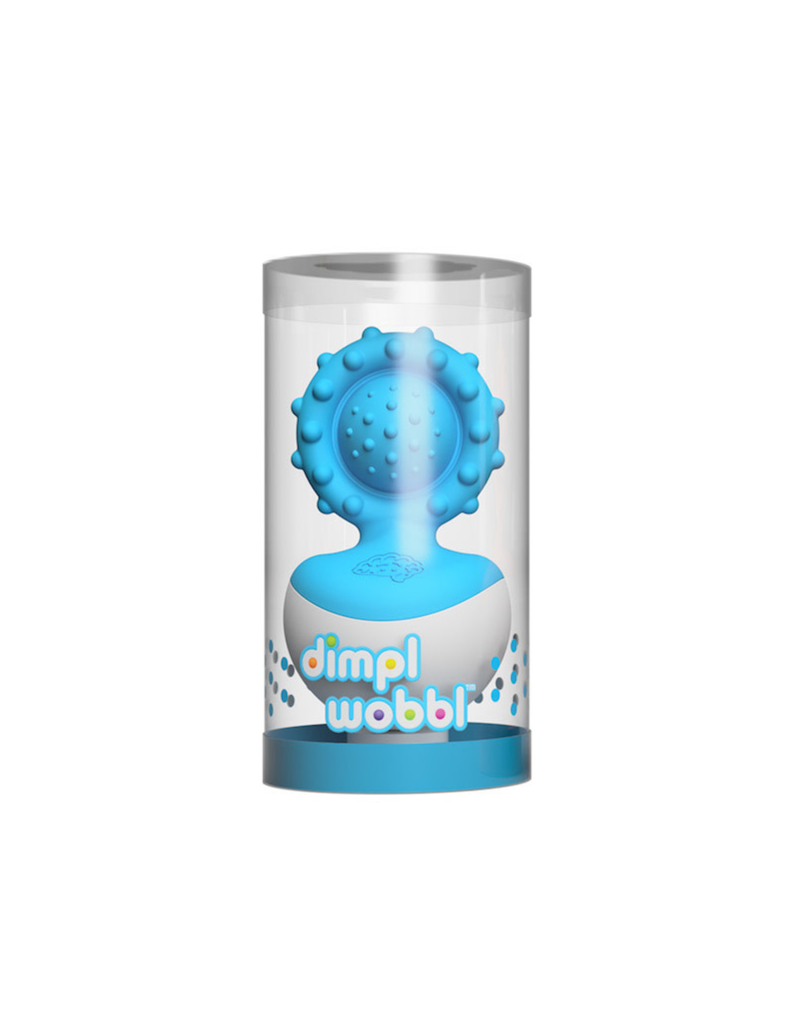 Fat Brain Toys Dimpl Wobbl - Blue