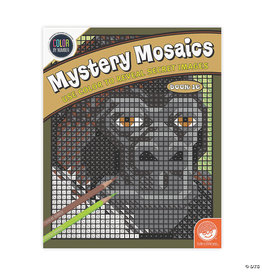 Mindware Mystery Mosaics Color By Number: Book 16