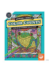Mindware Color Counts Color By Number: Adorable Animals