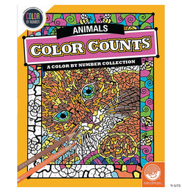 Mindware CBN Color Counts: Animals