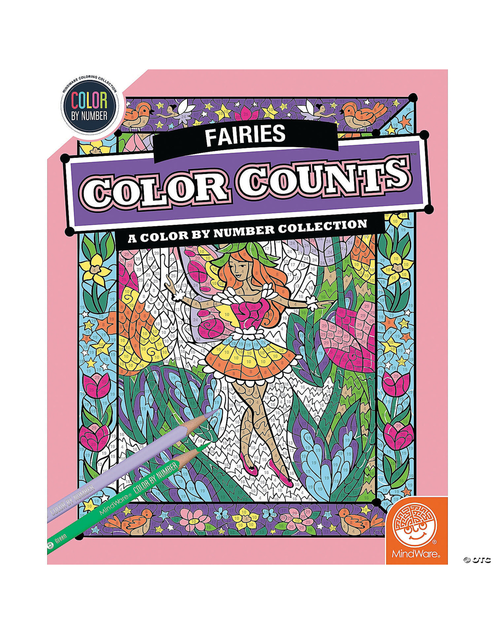 Mindware CBN Color Counts: Fairies