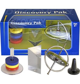 Discovery Pak - Gyroscope, Prism & Magnets