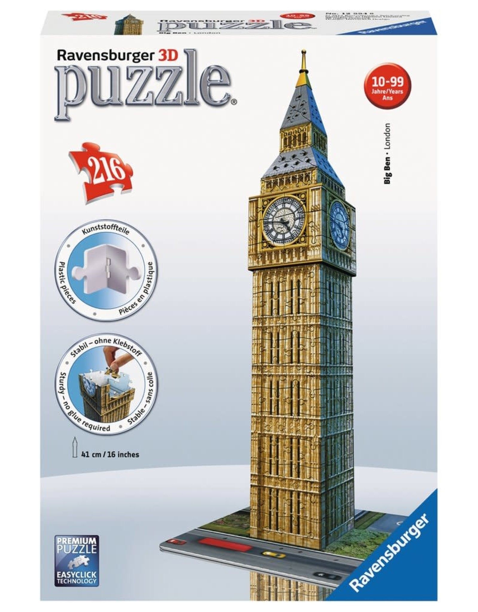 Ravensburger 3D Big Ben 216pc
