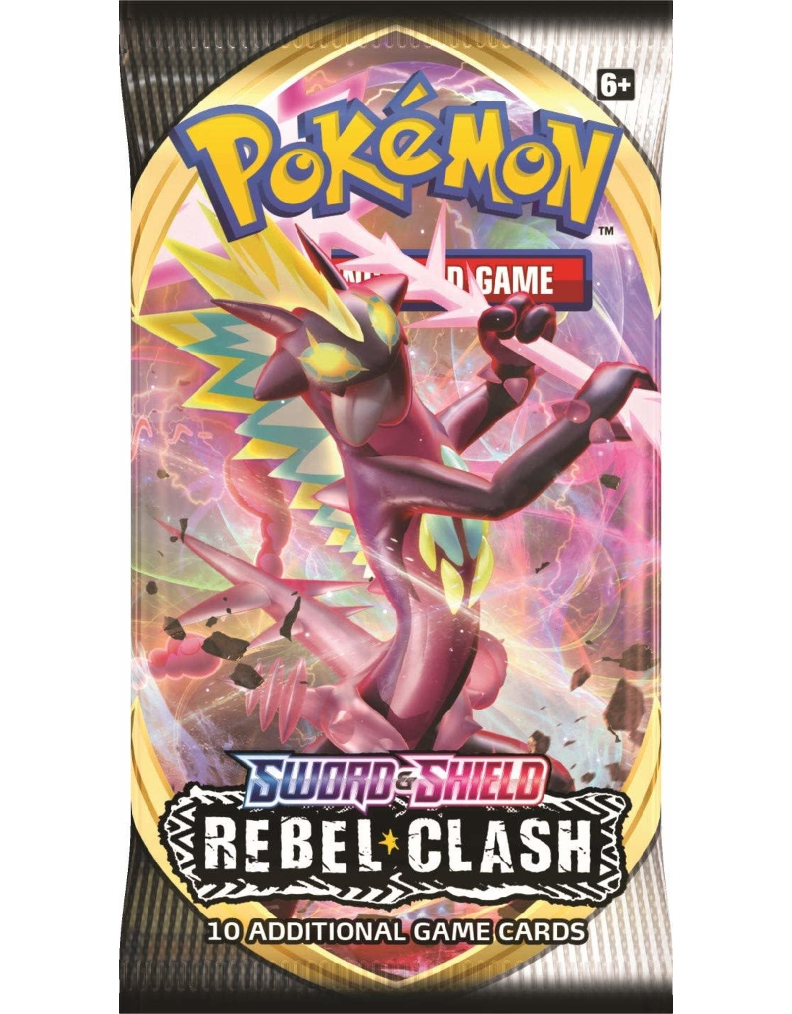 Pokemon TCG - Sword & Shield Rebel Clash Booster