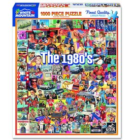 White Mountain Puzzles The 1980's 1000 pc puzzle