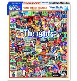 White Mountain Puzzles The Eighties 1000 pc