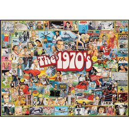 White Mountain Puzzles The 1970's 1000 pc
