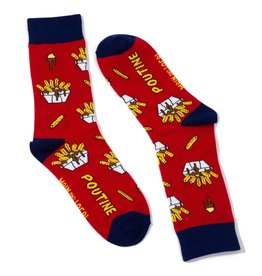 Main & Local Canadian Poutine Socks