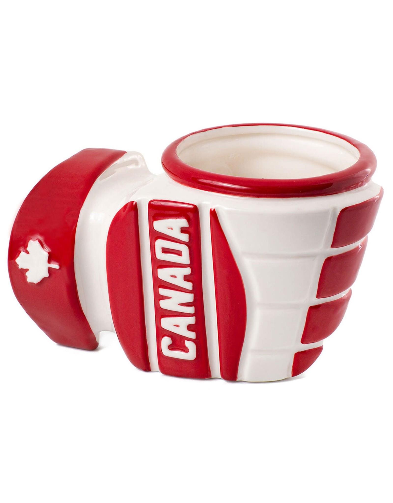 Main & Local Hockey Glove Mug