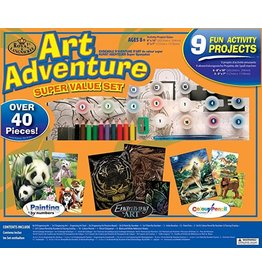 Royal & Langnickel Art Adventure - Super Value Set 4
