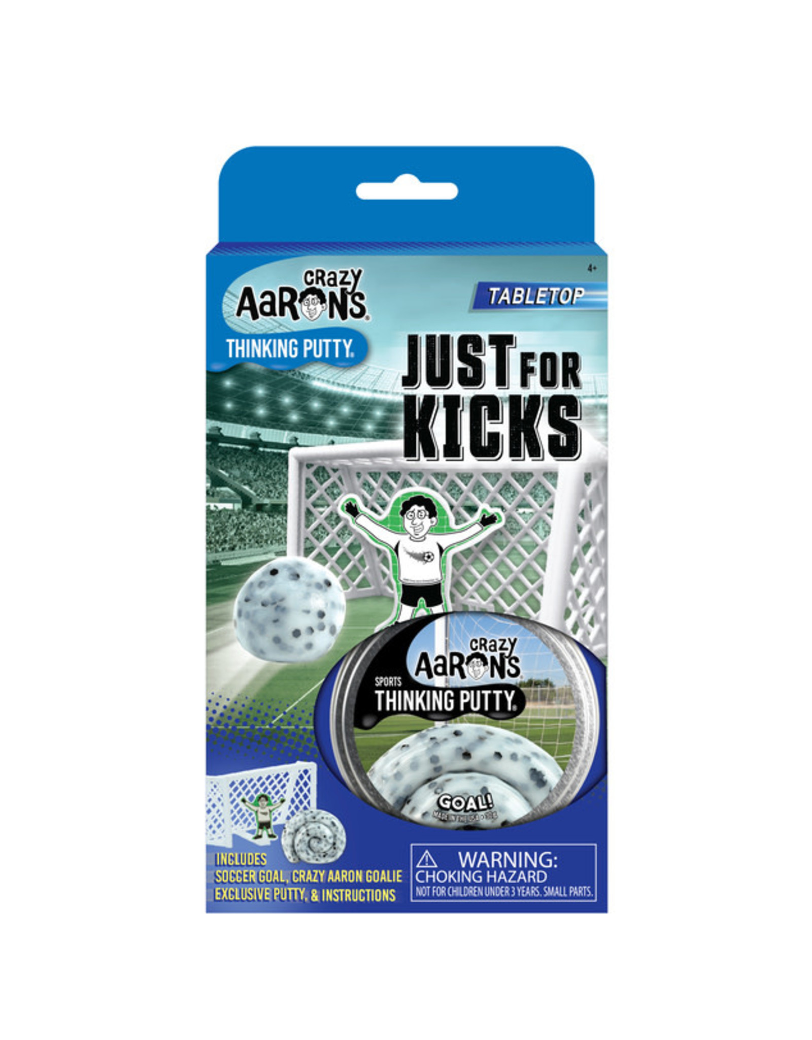 Crazy Aaron's Crazy Aaron's Sports Putty - Just For Kicks Goal!