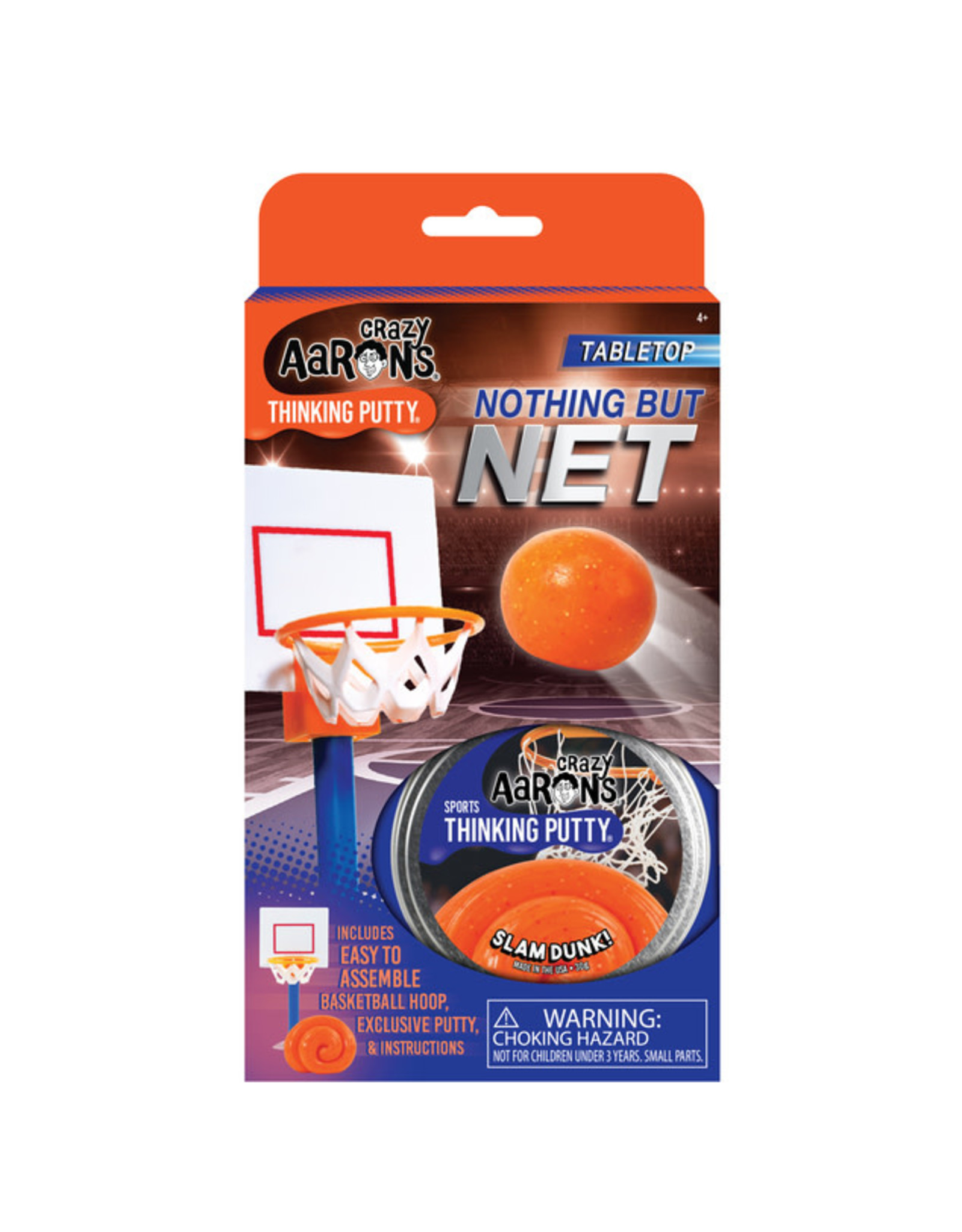 Crazy Aaron's Crazy Aaron's Sports Putty - Nothing But Net Slam Dunk!