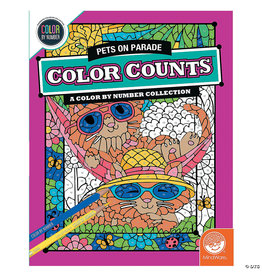 Mindware CBN Color Counts: Pets on Parade