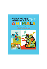 Native Northwest Discover the Animals Colouring Book