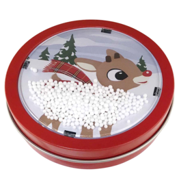 Rudolph Holiday Snow Globe Candy