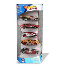 Mattel Hot Wheels 5 Car Set