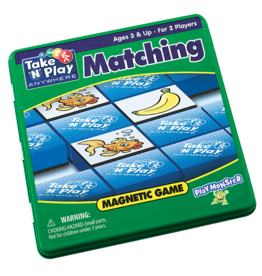 Play Monster Matching Magnetic Game Tin