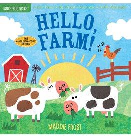 Indestructibles Book: Hello, Farm!