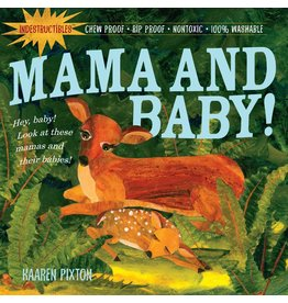 Indestructibles Book: Mama and Baby!