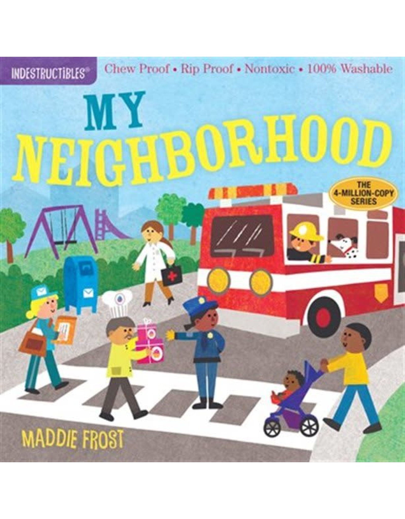 Indestructibles Book: My Neighborhood